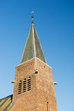 Tour d'église en Hollande Images stock