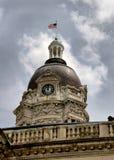 Tour d'horloge à Evansville Images stock