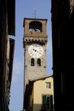 Tour d'horloge à Lucca Images libres de droits