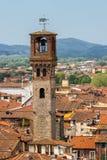 Tour d'horloge à Lucca Image libre de droits