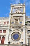 Tour d'horloge à Venise, Italie Photo libre de droits