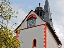 Tour d'horloge allemande photo libre de droits