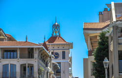 Tour d'horloge, Arcachon, France Image stock