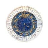 Tour d'horloge astronomique de zodiaque Photos stock