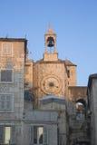 Tour d'horloge célèbre dans le fractionnement Photos libres de droits