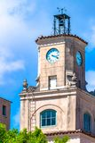 Tour d'horloge chez Coral Gables City Hall, Miami, Etats-Unis photo stock