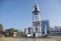Tour d'horloge commémorative de bouleau image libre de droits