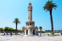 Tour d'horloge d'Izmir Photographie stock