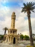 Tour d'horloge d'Izmir Photo libre de droits