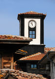 Tour d'horloge dans Nesebar Photo libre de droits