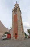 Tour d'horloge dans Tsim Sha Tsui, Hong Kong photographie stock