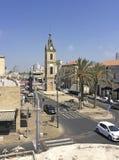 Tour d'horloge dans vieux Yaffo (Jaffa, Yafo), Israël photos libres de droits