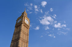 Tour d'horloge de Big Ben Londres R-U Photos stock