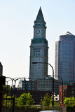 Tour d'horloge de Boston Images libres de droits