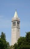 Tour d'horloge de campanile image stock