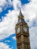 Tour d'horloge de grand Ben, Londres Photographie stock libre de droits