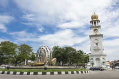 Tour d'horloge de la Reine Victoria Memorial - Image stock