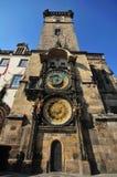 Tour d'horloge de Prague Photo libre de droits