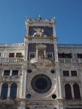 Tour d'horloge de St Mark à Venise Photos libres de droits