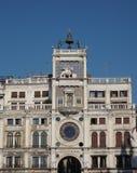 Tour d'horloge de St Mark à Venise Photo stock