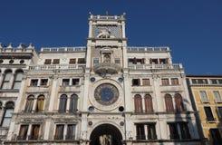 Tour d'horloge de St Mark à Venise Image libre de droits