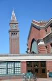 Tour d'horloge de station de train Seattle Photo stock