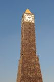 Tour d'horloge de Tunis Photo stock