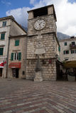 Tour d'horloge de ville Photo libre de droits