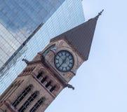 Tour d'horloge du Canada de Toronto Ontario de tribunal image stock