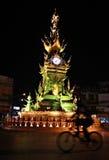 Tour d'horloge en Chiang Rai, Thaïlande Photo libre de droits