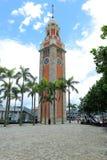 Tour d'horloge ferroviaire de Kowloon Photographie stock