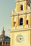 Tour d'horloge historique de Parme Images stock