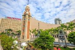 Tour d'horloge Hong Kong Photo stock