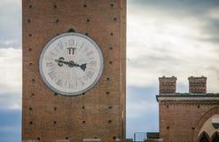 Tour d'horloge Sienne Italie Photo libre de droits