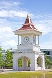 Tour d'horloge thaïe Image stock