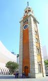 Tour d'horloge, tsui de sha de tsim, Hong Kong Images libres de droits