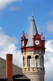 Tour d'horloge victorienne Images libres de droits