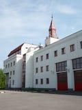 Tour d'incendie à Moscou image stock