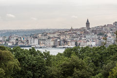 tour d'Istanbul de galata Photo libre de droits
