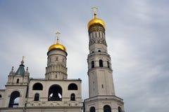 Tour d'Ivan Great Bell de Moscou Kremlin Site de patrimoine mondial de l'UNESCO photo stock