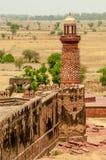 Tour d'éléphant dans Fatehpur Sikri Photographie stock
