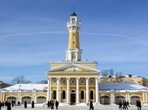 Tour d'observation d'incendie en Russie. photographie stock libre de droits