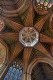 Tour d'octogone, cathédrale d'Ely images libres de droits