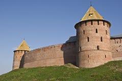 Tour d'une forteresse Image stock