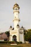 Tour dans le jardin de la mosquée de Kapitan Keling Image stock
