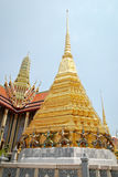 Tour dans le palais grand de Bangkok Photo libre de droits