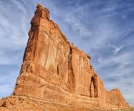 Tour de Babel et de grimpeurs Image stock