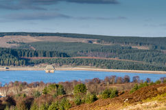 Tour de barrage et de valve de Kielder photo stock