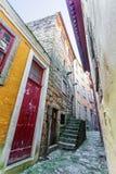 Tour de Barredo, ou Rua de Baixo Tower Photo stock