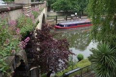 Tour de bateau à Bath historique Photos libres de droits